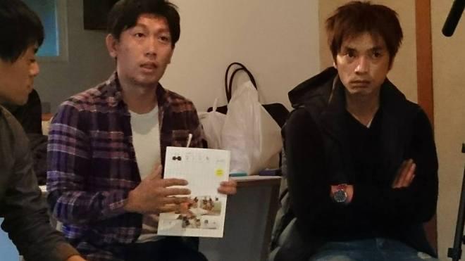 左側が山本賢さん