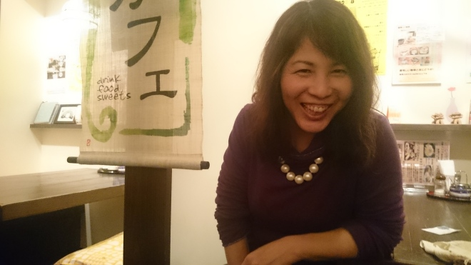夜の葉菜茶ママ子も素敵でした(*^_^*)