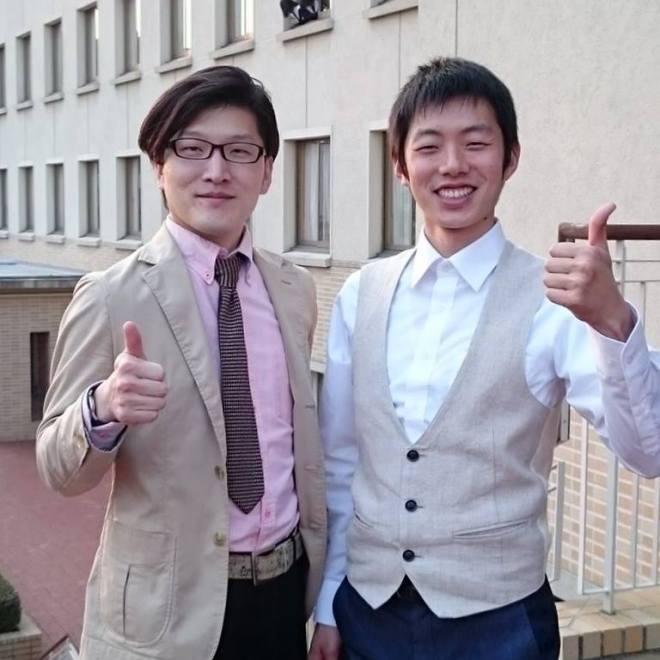 03月24日 作曲家の朴守賢さんとツーショット
