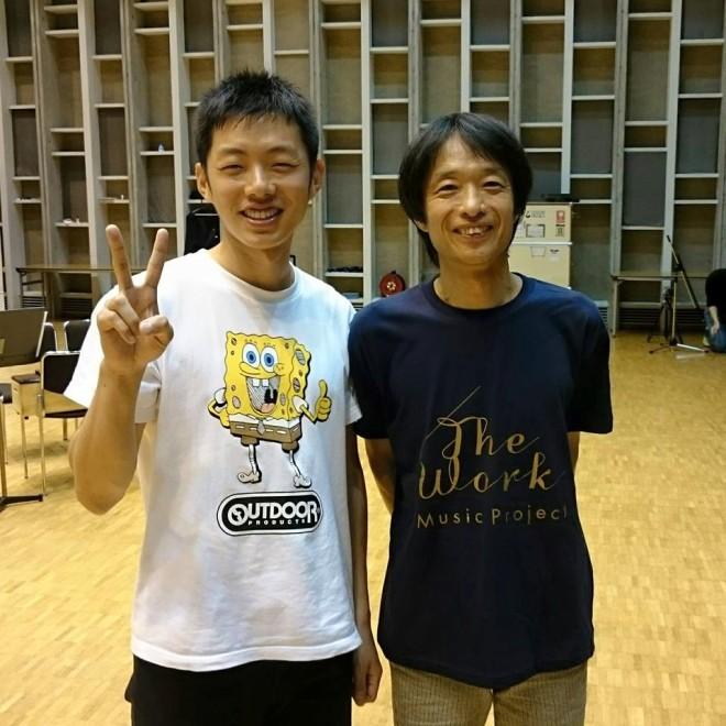 07月24日 野村誠さんに初めてお会いする