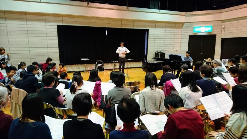 京都市東部文化会館にて合唱ワークショップを開催