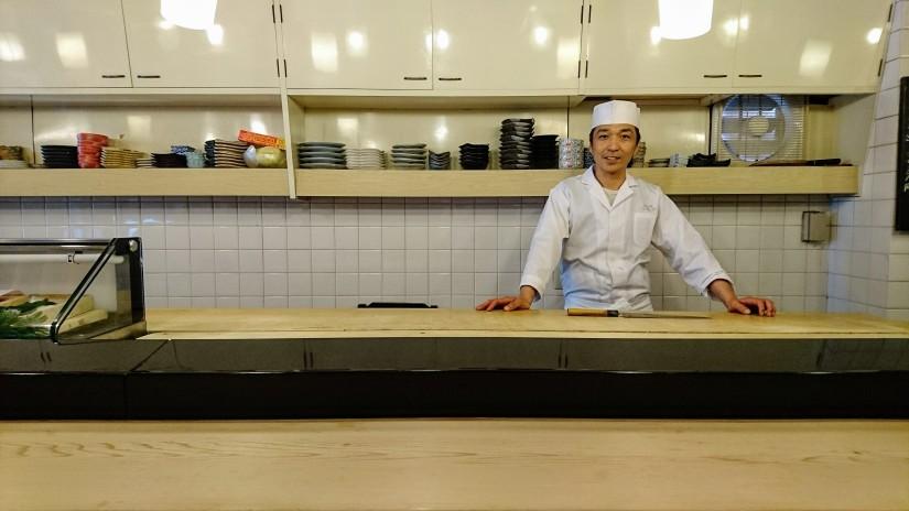 うを治でお寿司を頂く