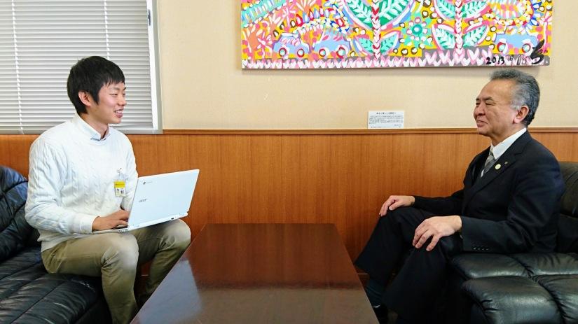 『誰でも出来ることを積み重ねていく』生野区長が退職されるので、インタビューしました
