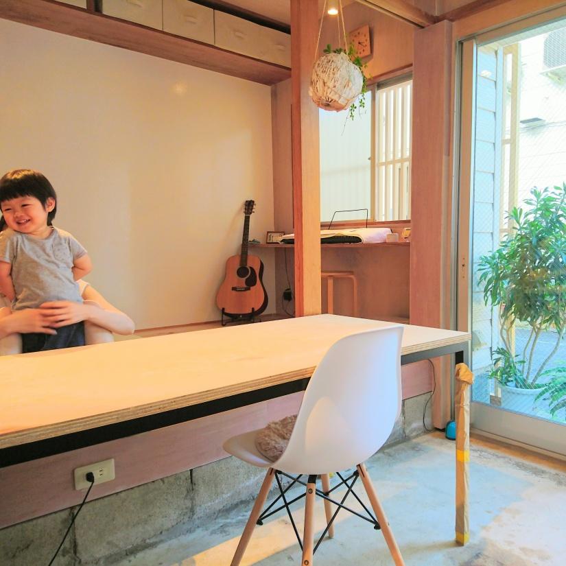 生野区の空き家を改装して、自宅の一部分を【住み開き】として開放