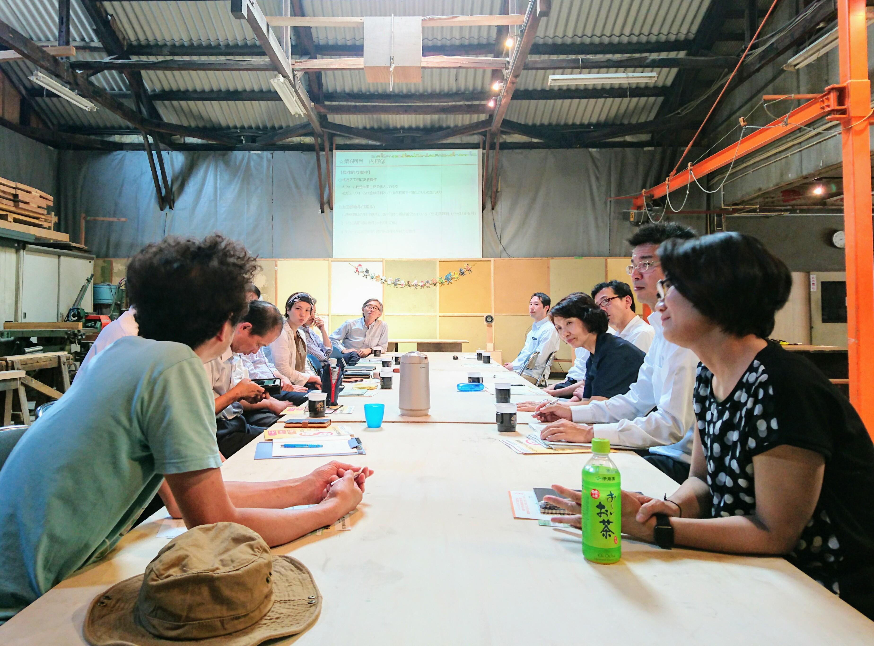 空き家カフェを生野区で開催